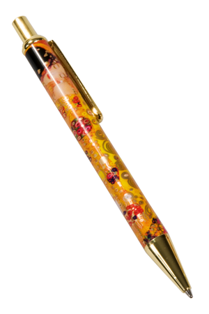 "Ballpoint pen ""Klimt - The kiss"" - Fridolin"