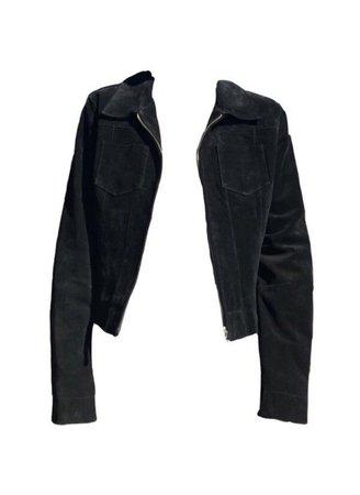 Jean Velvet Jacket