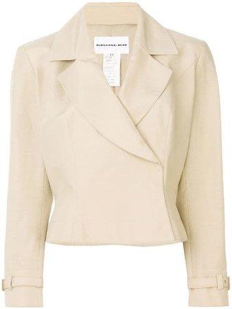 Thierry Mugler Vintage single breasted jacket $318 - Shop VINTAGE Online - Fast Delivery, Price