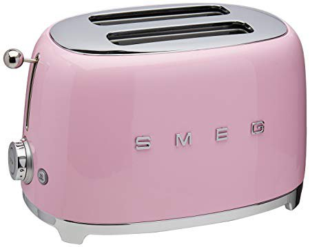Amazon.com: Smeg 2-Slice Toaster-Pink: Home & Kitchen