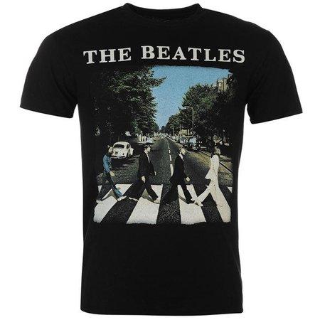 Official Band Merch The Beatles T Shirt | Mens T Shirts