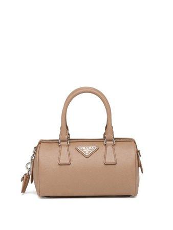 Prada Mini Saffiano Leather Bag - Farfetch