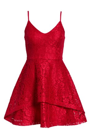 Speechless Lace Fit & Flare Dress | Nordstrom