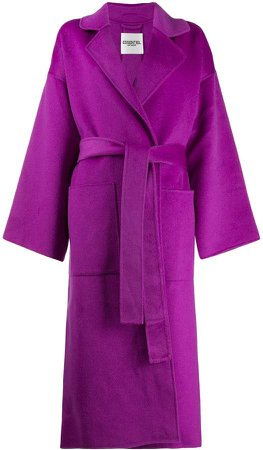 Essentiel Antwerp Truffle belted coat