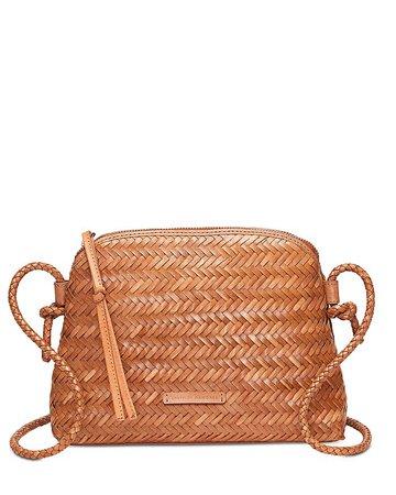 Loeffler Randall Mallory Woven Leather Crossbody | Bloomingdale's