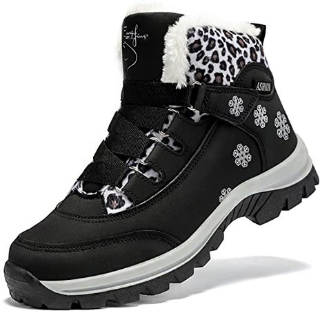 Amazon.com | ASHION Womens Waterproof Winter Shoes Non-Slip Warm Snow Boots | Snow Boots