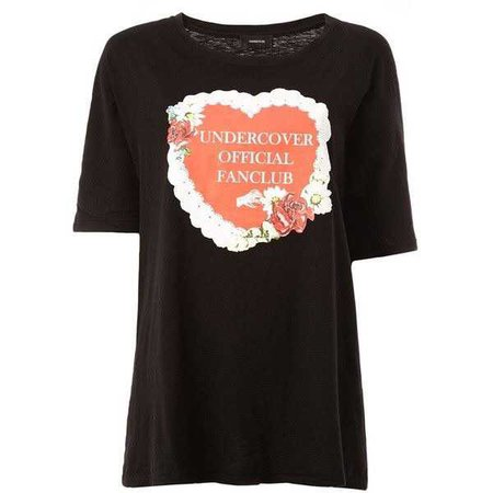 "Undercover ""official fanclub"" print T-shirt ($285)"