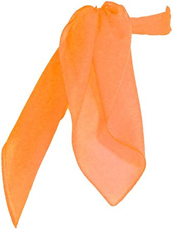 Amazon.com: Sheer Chiffon Scarf Vintage Style Accessory for Women and Children, Hot Pink: Clothing