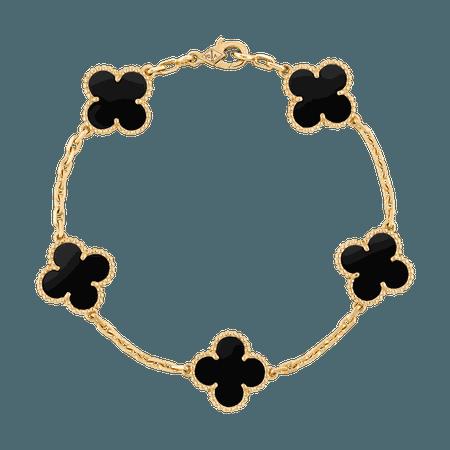 van cleef bracelet onyx