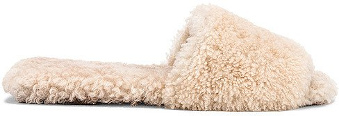 Shearling Sandal