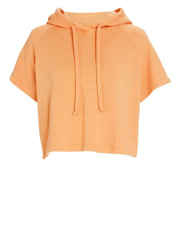Year of Ours Cropped Slugger Hooded Sweatshirt | INTERMIX®