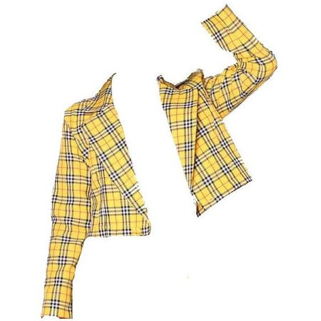 Yellow Plaid Blazer