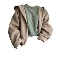 sweater with jacket