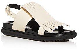 Women's Fussbett Kiltie Fringe Slingback Sandals