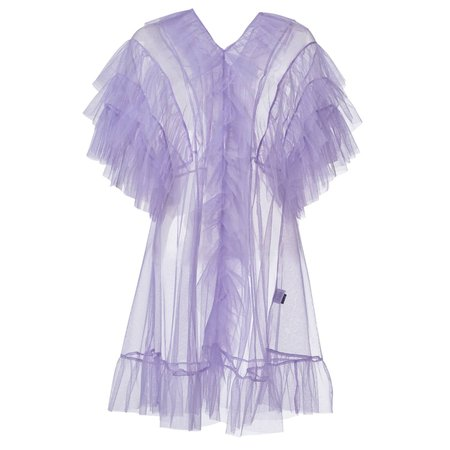 Tulle Babydoll In Lavender | By Moumi | Wolf & Badger