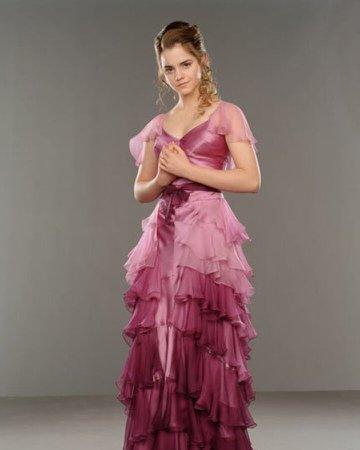 Hermione Yule ball dress