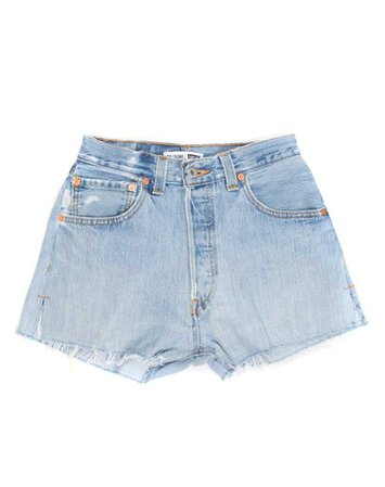 No. 23HRS1146138   High Rise Short   RE/DONE Levi's Denim