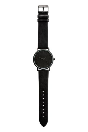 Watch with Leather Band $39.99