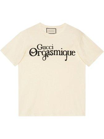 Gucci Logo-Print T-Shirt Ss20