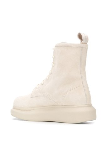 Alexander McQueen Hybrid lace-up Boots - Farfetch