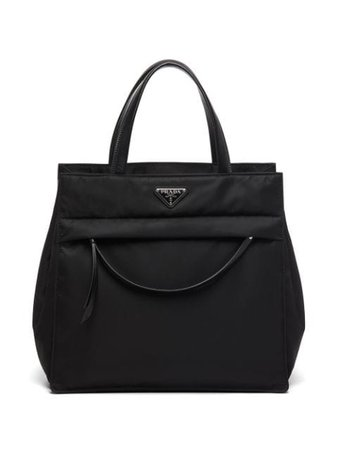 Prada Padded Nylon Tote - Farfetch