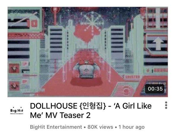 DOLLHOUSE 'A Girl Like Me' MV Teaser 2