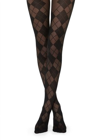 Diamond-Patterned Tights - Patterned tights - Calzedonia