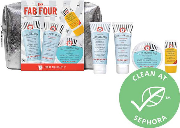FAB Four Travel Faves Kit