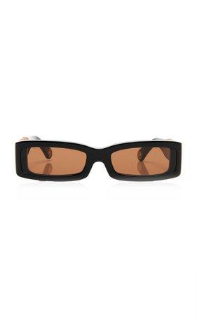 Acetate Square-Frame Sunglasses By Jacquemus | Moda Operandi