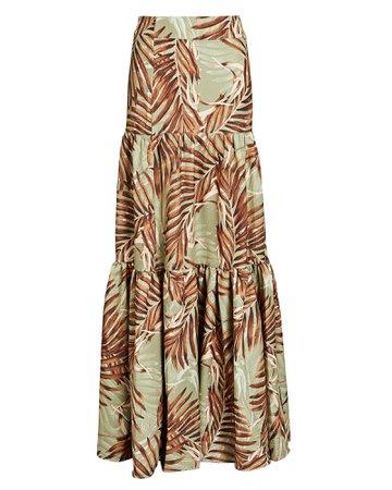 PatBO Palmeira Printed Maxi Skirt | INTERMIX®