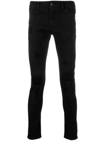 Family First distressed skinny jeans - FARFETCH