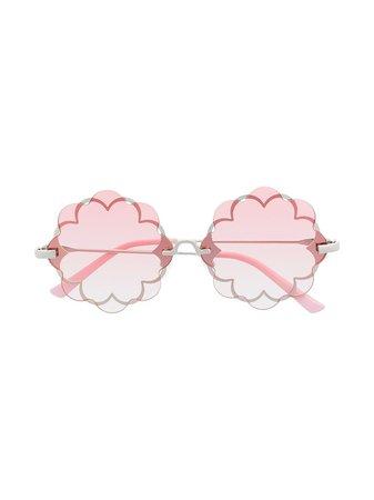 Monnalisa floral-layer Sunglasses - Farfetch