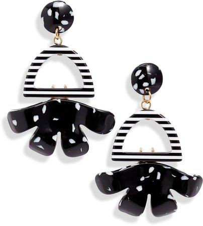Buttercup Arch Drop Earrings
