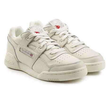 white reebok sneakers