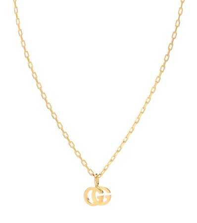 Double G 18Kt Gold Necklace With Topaz - Gucci | mytheresa