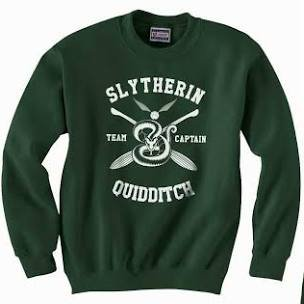 slytherin quidditch Jersey - Google Search