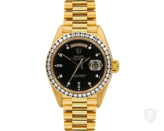 Rolex Gold Oyster Perpetual Day-Date Watch