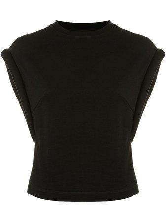 RtA Kairi Cap Sleeve T-shirt - Farfetch