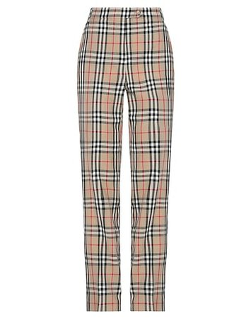 BURBERRY Casual Pants - Women BURBERRY Casual Pants online on YOOX United States - 13570803EA