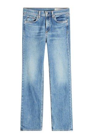 Straight Leg Jeans Gr. 26