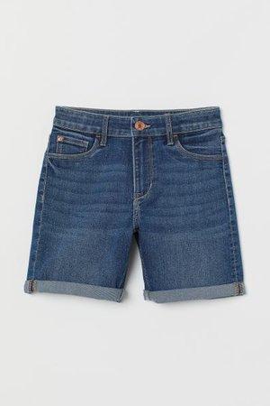 Denim Shorts - Denim blue - Kids   H&M CA