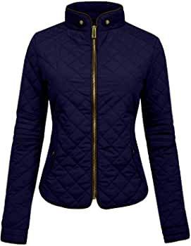 NE PEOPLE Womens Lightweight Quilted Zip Jacket, Small, NEWJ22BLACK at Amazon Women's Coats Shop