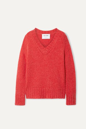 RE/DONE | 90s oversized knitted sweater | NET-A-PORTER.COM