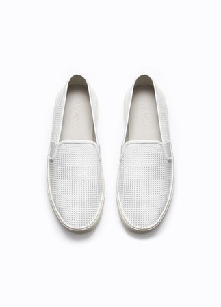 Women's Blair Perforated Leather Sneakers | Vince for Women | Vince
