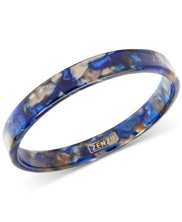 Zenzii Tortoise-Look Bangle Bracelet & Reviews - Bracelets - Jewelry & Watches - Macy's