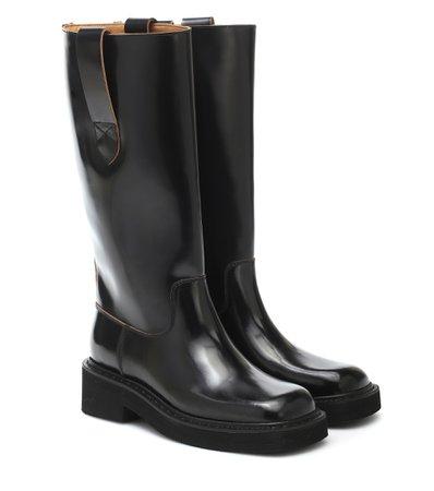 Leather Boots - Maison Margiela | Mytheresa