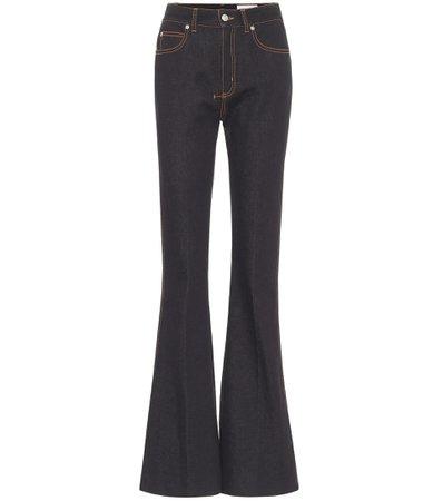 High-Rise Bootcut Jeans | Alexander McQueen - Mytheresa