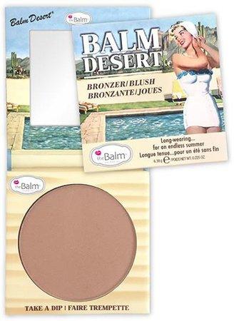 the Balm Balm Desert Bronzer / Blush Balm Desert Bronzer/Blush   lyko.com
