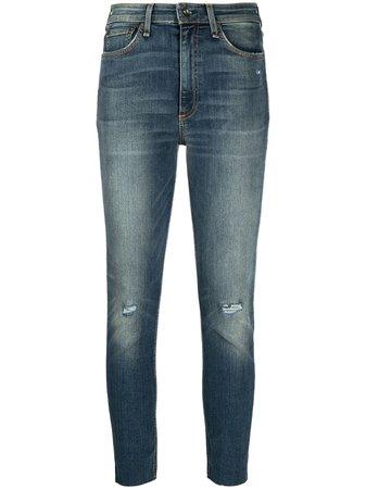 Rag & Bone high-waist Skinny Jeans - Farfetch