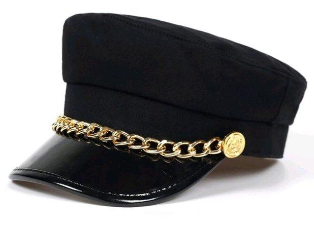 black gold beret